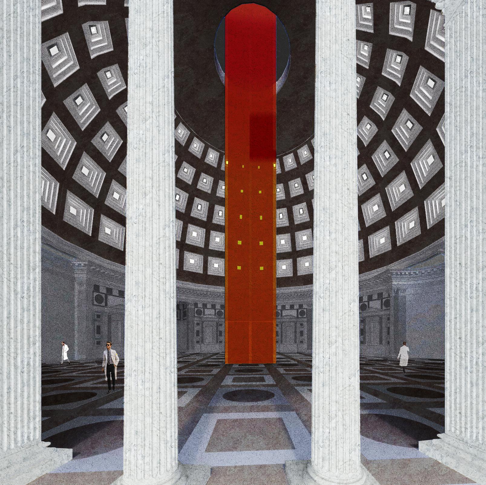 interior / cenotaph