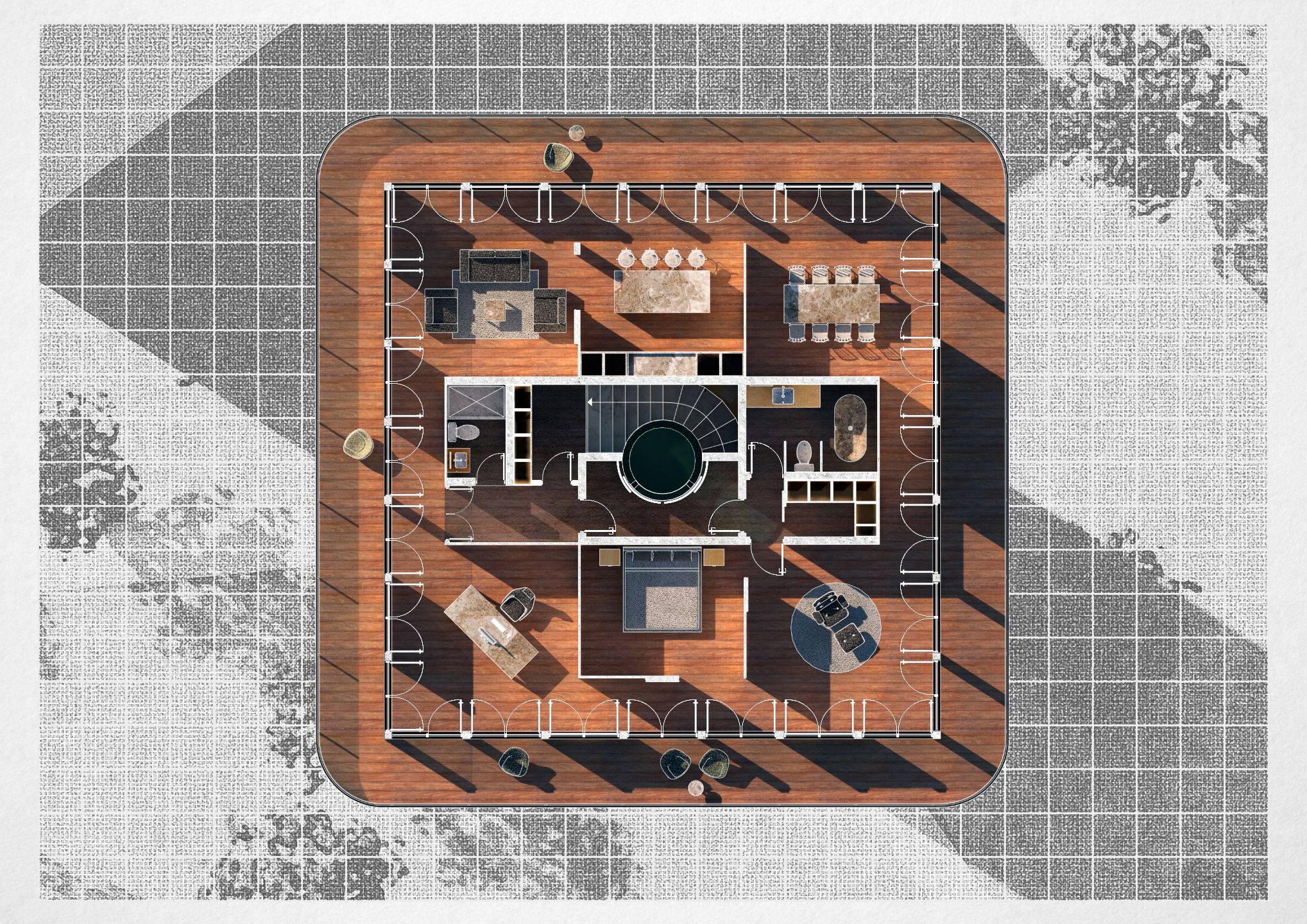 Башня / План